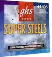 GHS L5200 SUPERSTEEL набор струн для бас-гитары