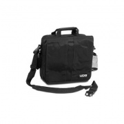 "UDG Ultimate CourierBag DeLuxe 15"" black, orange inside"