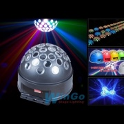 WINGO WG-G2011 LED crystal magic ball световой эффект