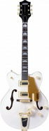 Полуакустическая электрогитара GRETSCH GUITARS G5422TDCG ELECTROMATIC HOLLOW BODYSNOW CREST WHITE