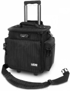 UDG Ultimate SlingBag Trolley DeLuxe black/grey Stripe