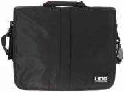"UDG Ultimate CourierBag DeLuxe 17"" black, orange inside"